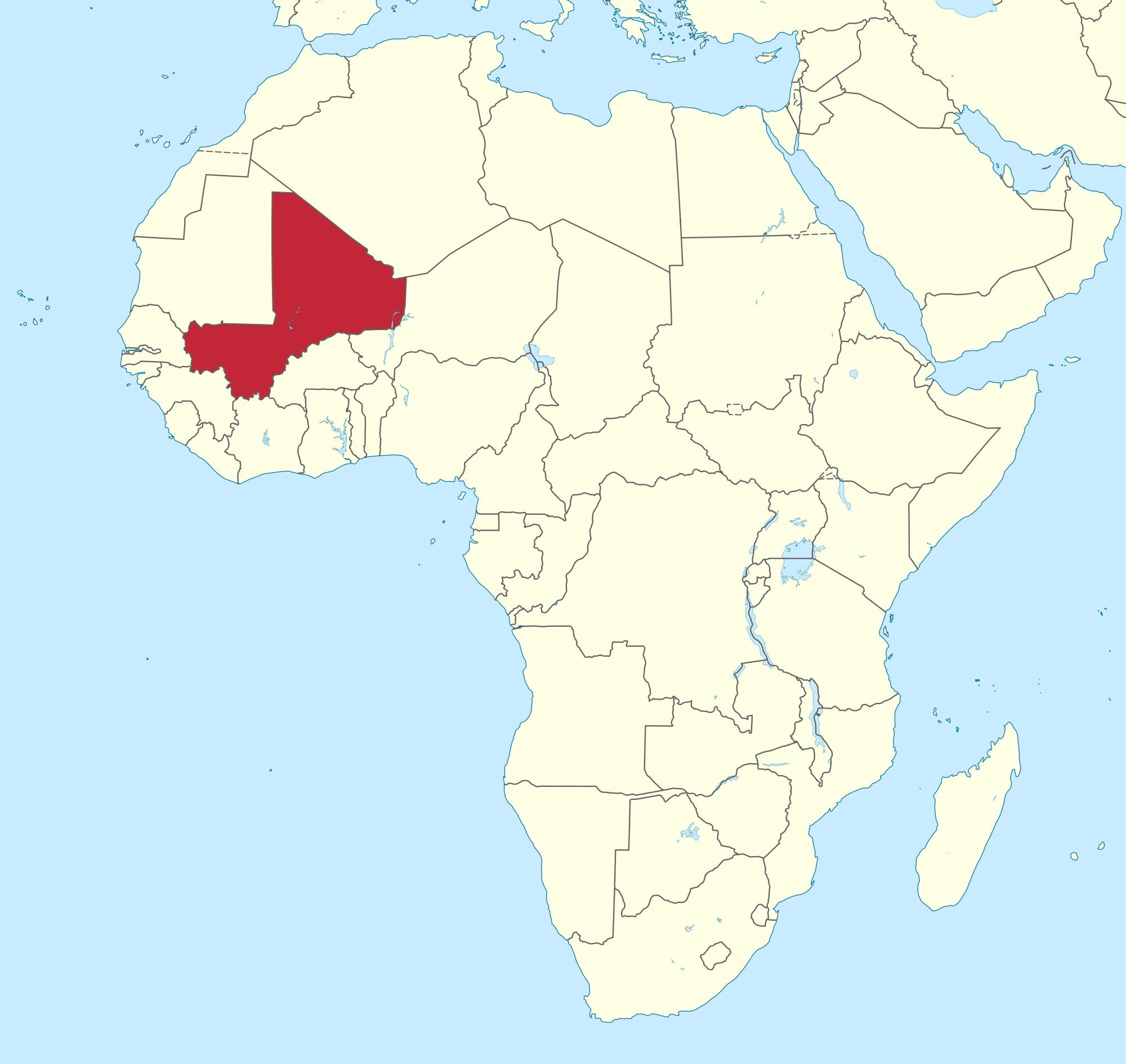 Mali Location On World Map Mali on world map   Mali location on world map (Western Africa  Mali Location On World Map